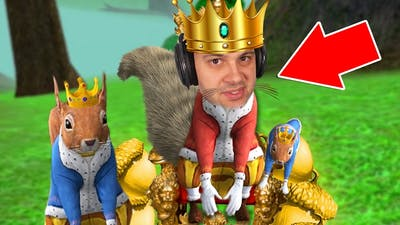 I Am The KING of ALL SQUIRRELS!