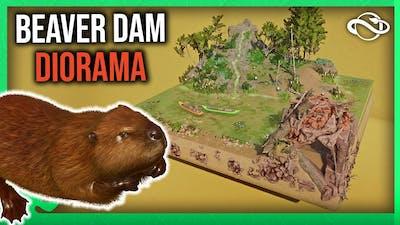 Beaver Dam-o-Rama Speedbuild! - Planet Zoo North America Animal Pack