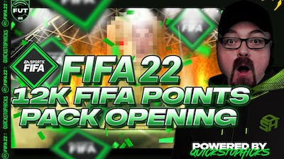 FIFA 22 12K FIFA POINTS GETS YOU? FIFA 22 ULTIMATE TEAM PACK OPENING