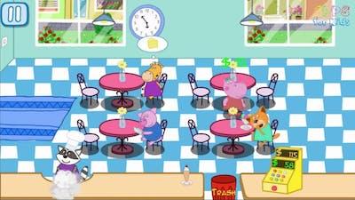 Pepa Hippo English Episodes Cafe Mania. Kids Cooking Games
