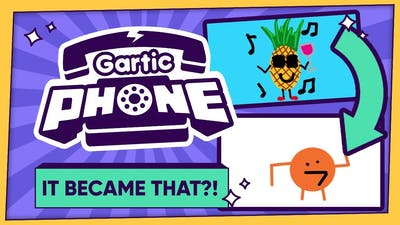 Gartic Phone - IT BECAME THAT?!! (8-Player Gameplay)
