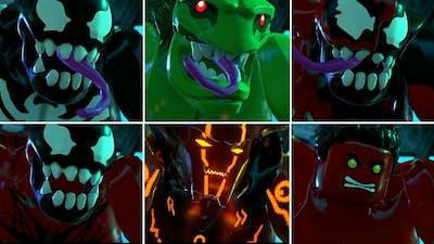 All Big Fig Marvel Characters Hulk Smash in LEGO Marvel Super Heroes 2 Cutscene