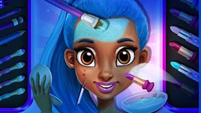 Fun Kids Care Games - Superhero Makeup Dress Up Makeover Power Girls Super City Kids & Girls Games