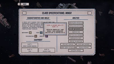Deep Sky Derelicts: Settings and class