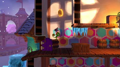 thes is my game Yooka-Laylee and the Impossible Lair DEMO