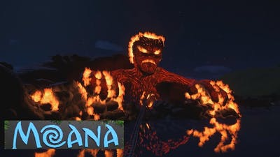 Planet Coaster - Making of Te Ká (from Moana the Ride)