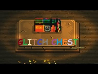 My first GLITCH chest in Enter the Gungeon(60 hours of game)