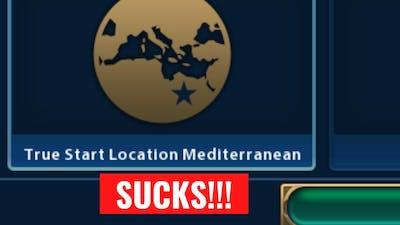 Opinion: Mediterranean TSL Map is HORRIBLE! - Let's Play Civilization VI