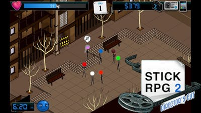 Old Flash Game - Stick RPG 2: Director's Cut