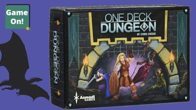 One Deck Dungeon Playthrough: The Dragon Part 2