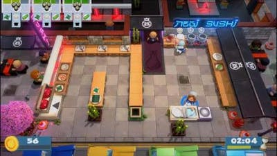 OverCooked All you can eat Lvl 1-4