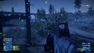 Battlefield 3 Multiplayer Gameplay Armored Kill 17.09