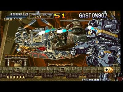 Metal Slug X Apocalyptic Time The 2 Beginning Of The End Of Time 7.0 2R Edition [Test 10]