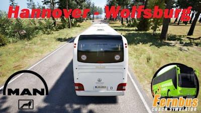 Fernbus Simulator / Hannover - Wolfsburg / Man Lion's Coach