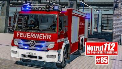 NOTRUF 112 #85: Der Grill steht in Flammen - Feuerwehr-Einsatz I Feuerwehr-Simulation