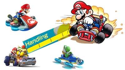 Mario Kart: What does Handling do?