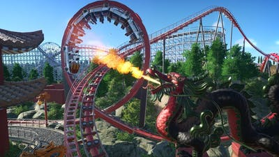 Let's Play Planet Coaster - Vintage Park - Episode 10 - Schwarzkopf Looping Coaster