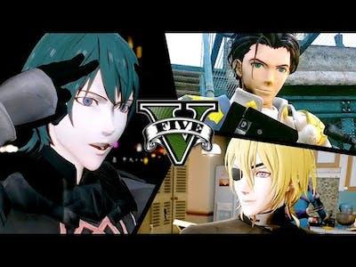 The Javelin of Light Heist ★ GTA 5 x Fire Emblem: Three Houses 【GTA 5 Modded Story Mode】