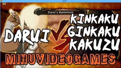 Naruto Shippuden Ultimate Ninja Storm 3 - Darui's Battlefield (HD)