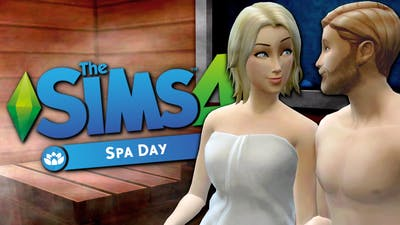 WOOHOO CLUB SPA - Sims 4 Spa Day - The Sims 4 Funny Highlights #48