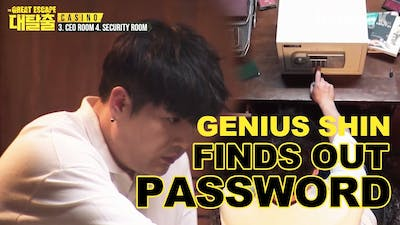 Shin Finds a Way to Open the Safe | The Great  Escape Room Ep.1-4