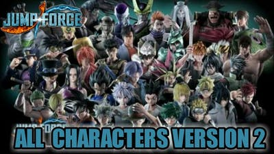Jump Force All Characters Update..!!!!