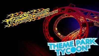 Rock 'N' Roller Coaster ON Theme Park Tycoon 2 (By bloubiboulgah)