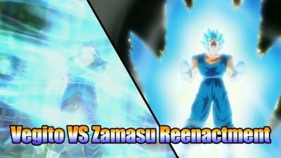 Vegito VS Zamasu!! Reenactment!! | Dragon Ball Xenoverse 2
