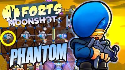 Phantom Commander Showcase Forts Moonshot DLC Gameplay