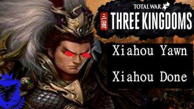 Total War Three Kingdoms Lu Bu - Fates Divided - Legendary - #2 - Xiahou Yawn, Xiahou Done!