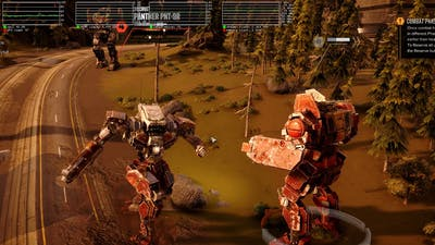 BATTLETECH game play preview