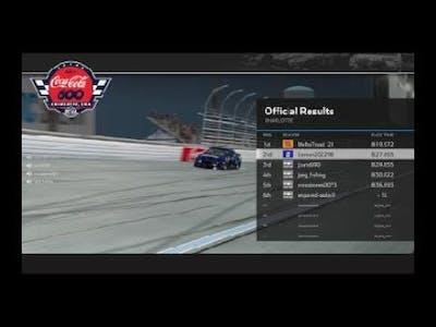 NASCAR Heat 4  - charlotte recovery