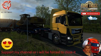 Euro Truck Simulator 2 (1.36) New company v1.5 [Schumi] [1.36] MAN TGS e6 + DLC's & Mods