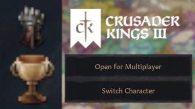 [CK3] How to switch characters and play multiplayer in Ironman with Achievements