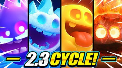 THIS IS TOO EASY!! NEW QUAD SPIRIT CYCLE CAN'T BE STOPPED!! - Clash Royale