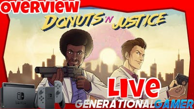 Donuts'n'Justice By Ratalaika Games - Live Overview