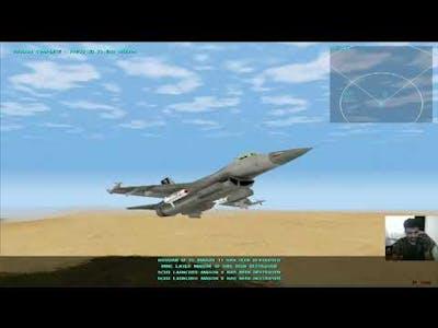 F-16 Multirole Fighter - Unguided Ground Attack Training