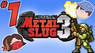 Metal Slug 3: Killer Crustaceans - PART 1 - Steam Train