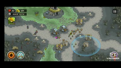 Nightfang swale Round easy clear kingdom rush game in mobile