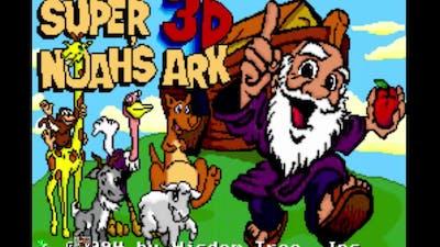 Super Noah's Ark 3D (SNES) - Gameplay
