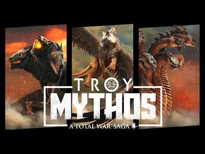 New Game Modes, Mythical Creatures, and More | Total War Troy Mythos DLC Announcement