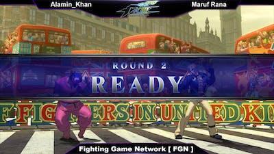 The King of Fighters XIII (P1: Alamin_Khan VS P2: Maruf Rana ) 13-09-18