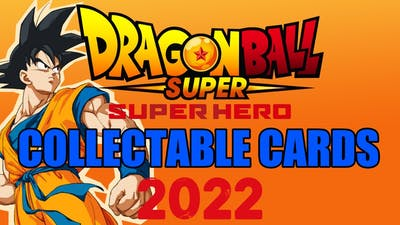 DBS SUPER HERO MOVIE & More COLLECTABLES CARDS COMING OUT! (Dragon Ball Super Card Game)