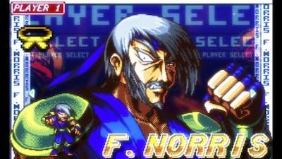 Fight'N Rage Round 1 F. NORRIS