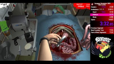 Surgeon Simulator 2013 PB 8:58