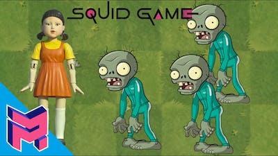 Plants VS Zombies Squid Game Animation Cartoon