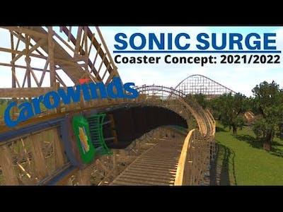 Sonic Surge - Carowinds 2021/2022 Coaster Concept [Nolimits2]