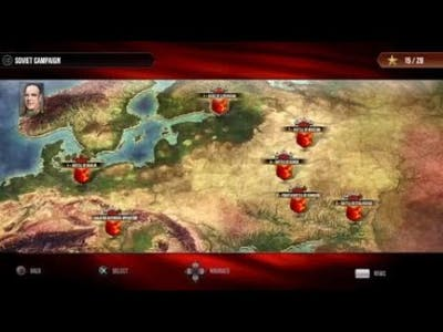 Sudden Strike 4 soviet campaign play through  1#