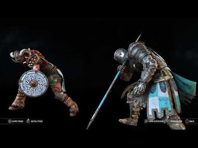 New Unique Executions– For Honor Y5S3