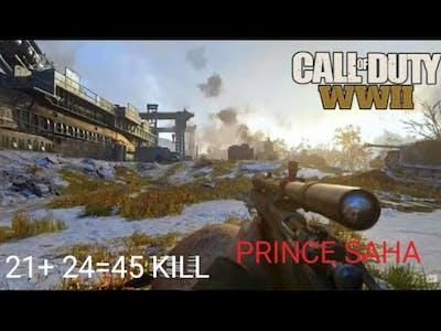 WORLD OF war 45 kill
